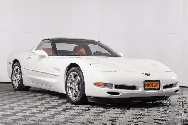 2001 Chevrolet Corvette for sale at Washington Auto Credit in Puyallup WA
