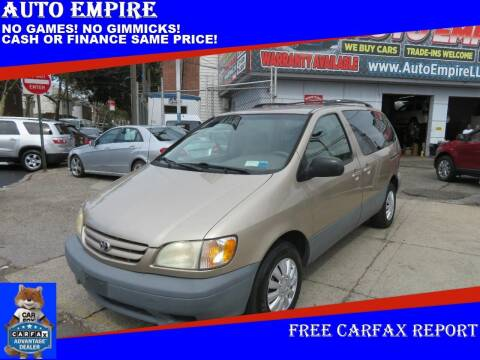 2002 Toyota Sienna for sale at Auto Empire in Brooklyn NY