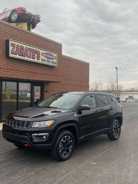 2020 Jeep Compass for sale at Zarate's Auto Sales in Caledonia WI