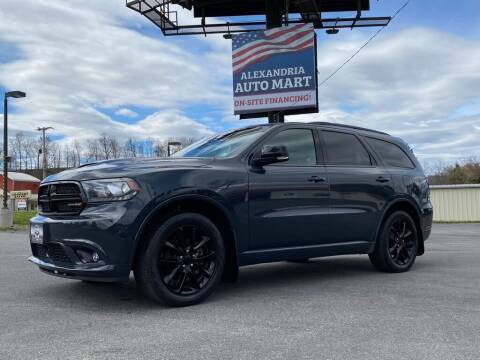 2018 Dodge Durango for sale at Alexandria Auto Mart LLC in Alexandria PA