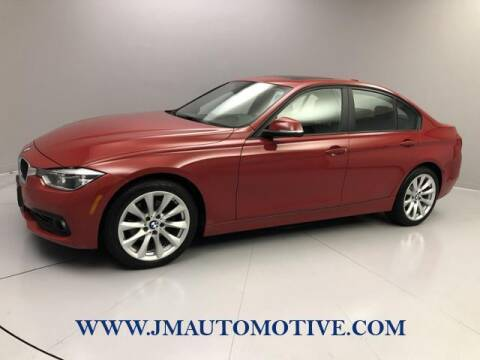 2016 BMW 3 Series for sale at J & M Automotive in Naugatuck CT