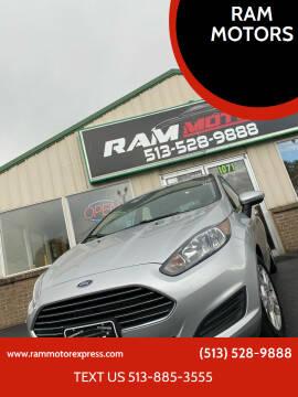 2016 Ford Fiesta for sale at RAM MOTORS in Cincinnati OH