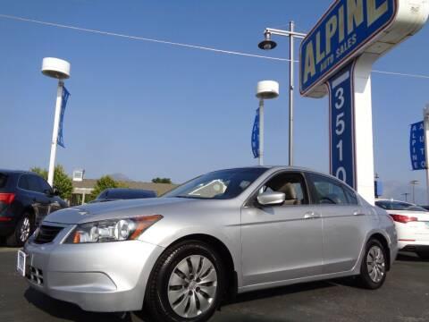 2010 Honda Accord for sale at Alpine Auto Sales in Salt Lake City UT