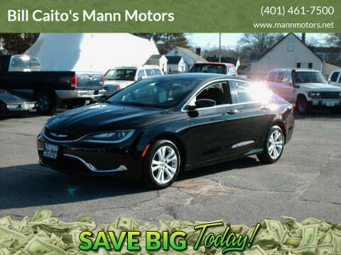 2015 Chrysler 200 for sale at Bill Caito's Mann Motors in Warwick RI