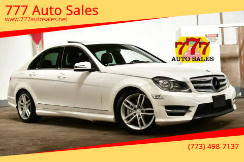 2013 Mercedes-Benz C-Class for sale at 777 Auto Sales in Bedford Park IL