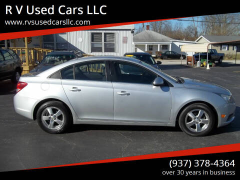 2012 Chevrolet Cruze for sale at R V Used Cars LLC in Georgetown OH