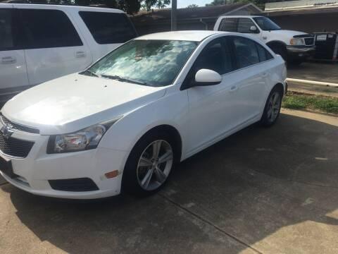 2014 Chevrolet Cruze for sale at ARKLATEX AUTO in Texarkana TX