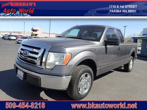 2010 Ford F-150 for sale at Bruce Kirkham Auto World in Yakima WA