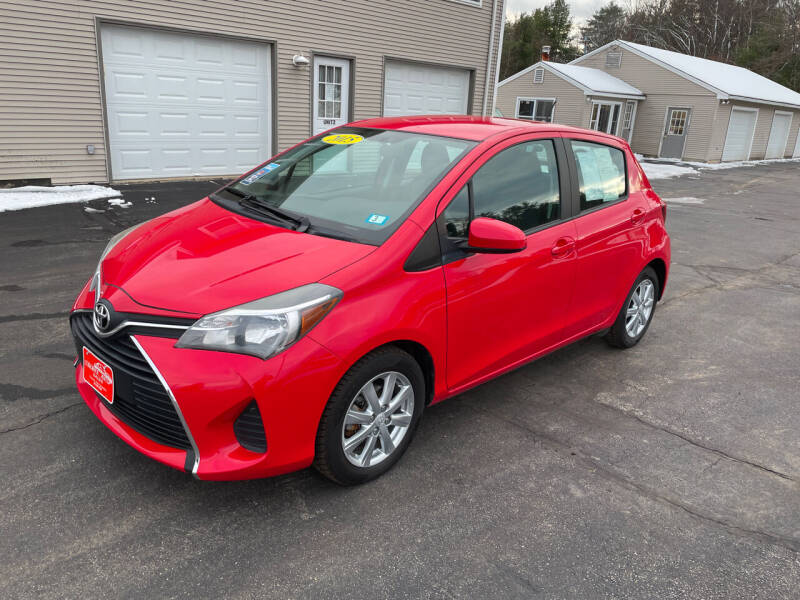 2015 Toyota Yaris for sale at Glen's Auto Sales in Fremont NH