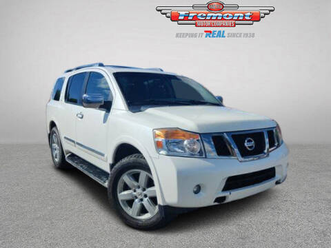 2013 Nissan Armada for sale at Rocky Mountain Commercial Trucks in Casper WY