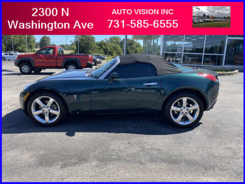 2008 Pontiac Solstice for sale at Auto Vision Inc. in Brownsville TN