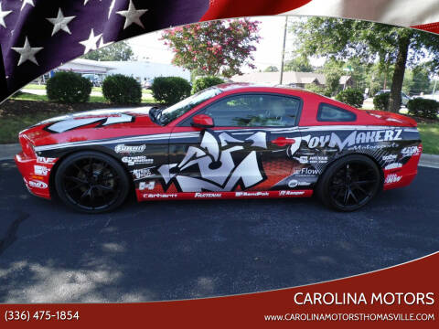 2014 Ford Mustang for sale at CAROLINA MOTORS - Carolina Classics & More-Thomasville in Thomasville NC