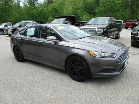 2013 Ford Fusion for sale at MC FARLAND FORD in Exeter NH