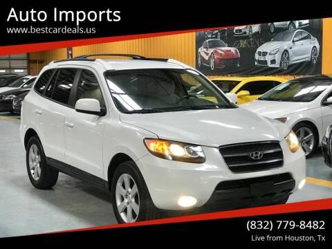 2007 Hyundai Santa Fe for sale at Auto Imports in Houston TX