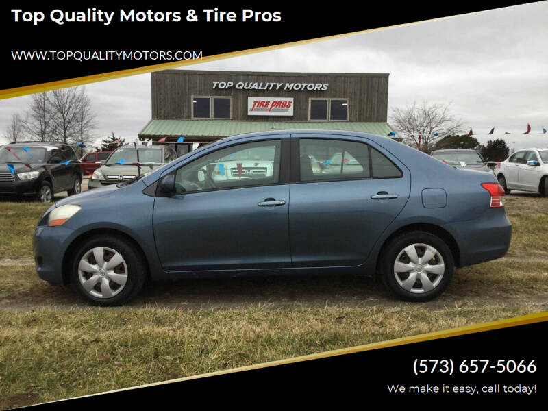 2008 Toyota Yaris for sale at Top Quality Motors & Tire Pros in Ashland MO
