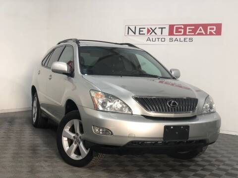 2007 Lexus RX 350 for sale at Next Gear Auto Sales in Westfield IN