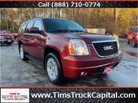 2008 GMC Yukon for sale at TTC AUTO OUTLET/TIM'S TRUCK CAPITAL & AUTO SALES INC ANNEX in Epsom NH