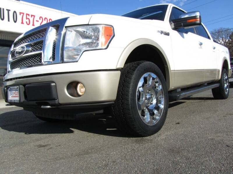 2010 Ford F-150 for sale at Trimax Auto Group in Norfolk VA