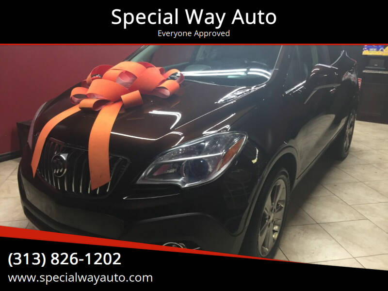 2013 Buick Encore for sale at Special Way Auto in Hamtramck MI