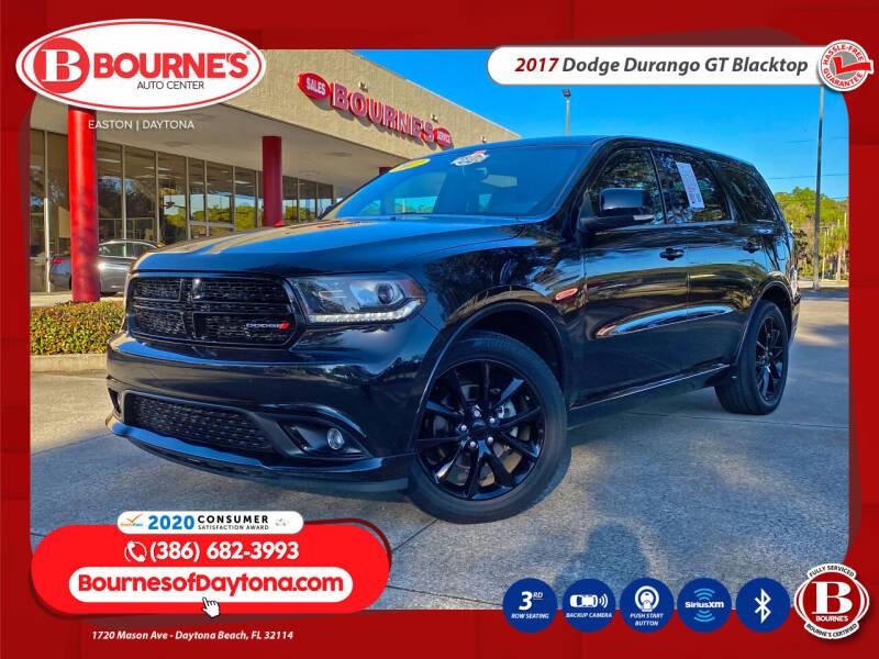 2017 Dodge Durango for sale at Bourne's Auto Center in Daytona Beach FL