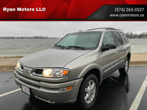 2002 Oldsmobile Bravada for sale at Ryan Motors LLC in Warsaw IN