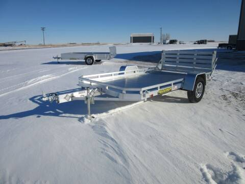 2021 Aluma 7712 HBT for sale at Nore's Auto & Trailer Sales - Utility Trailers in Kenmare ND