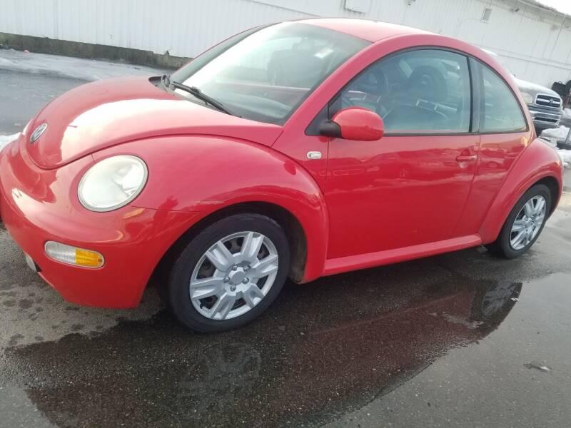 2001 Volkswagen New Beetle for sale at JG Motors in Worcester MA