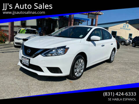 2016 Nissan Sentra for sale at JJ's Auto Sales in Salinas CA