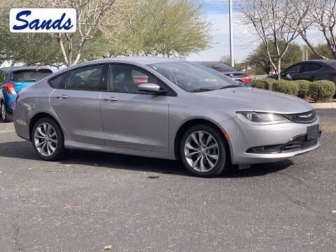 2015 Chrysler 200 for sale at Sands Chevrolet in Surprise AZ
