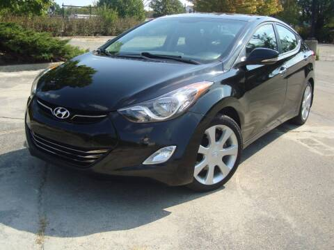 2012 Hyundai Elantra for sale at Tempo Auto of Chicago in Chicago IL