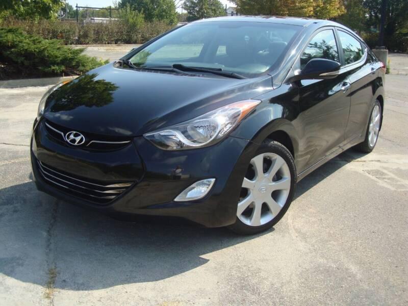 2012 Hyundai Elantra for sale at Tempo Auto of Chicago in Chicago IL