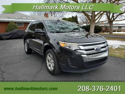 2014 Ford Edge for sale at HALLMARK MOTORS LLC in Boise ID