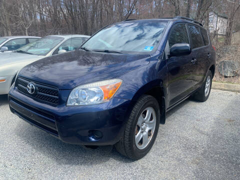 2007 Toyota RAV4 for sale at LONGWOOD MOTORS in Stockholm NJ
