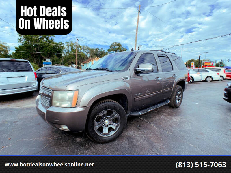 2011 Chevrolet Tahoe for sale at Hot Deals On Wheels in Tampa FL