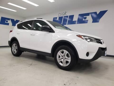2014 Toyota RAV4 for sale at HILEY MAZDA VOLKSWAGEN of ARLINGTON in Arlington TX