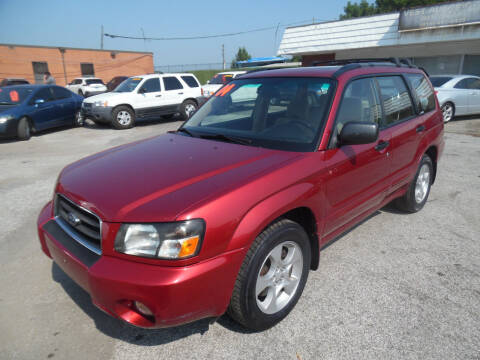 2004 Subaru Forester for sale at VEST AUTO SALES in Kansas City MO
