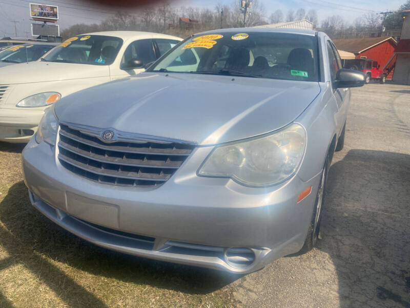 2010 Chrysler Sebring for sale at WINNERS CIRCLE AUTO EXCHANGE in Ashland KY