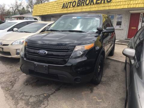 2014 Ford Explorer for sale at Auto Brokers in Sheridan CO