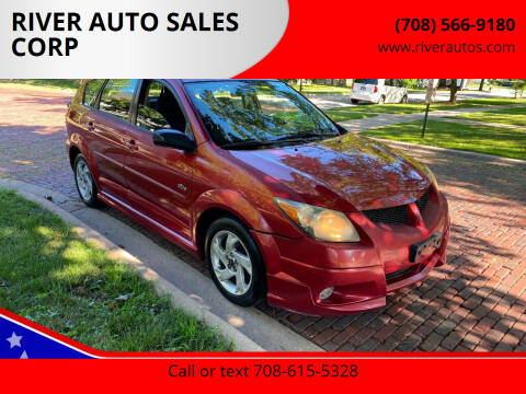 2006 Pontiac Vibe for sale at RIVER AUTO SALES CORP in Maywood IL