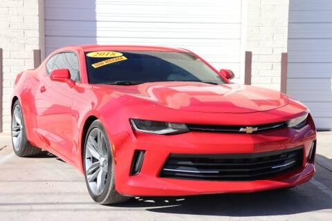 2018 Chevrolet Camaro for sale at MG Motors in Tucson AZ