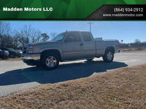 2007 Chevrolet Silverado 1500 Classic for sale at Madden Motors LLC in Iva SC