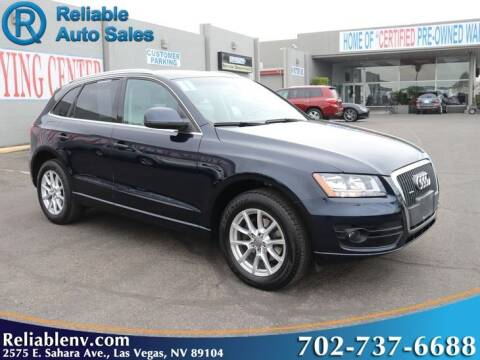 2011 Audi Q5 for sale at Reliable Auto Sales in Las Vegas NV