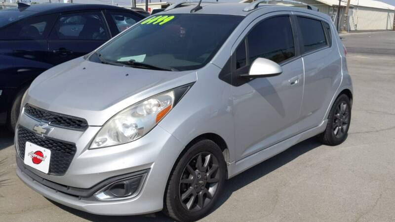 2013 Chevrolet Spark for sale at Approved Autos in Bakersfield CA