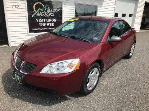 2008 Pontiac G6 for sale at HILLTOP MOTORS INC in Caribou ME