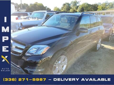 2015 Mercedes-Benz GLK for sale at Impex Auto Sales in Greensboro NC