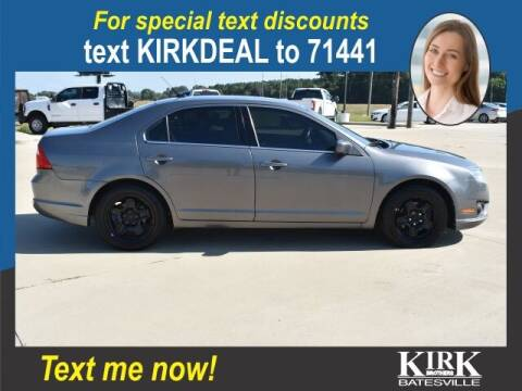 2010 Ford Fusion for sale at Kirk Brothers Batesville in Batesville MS