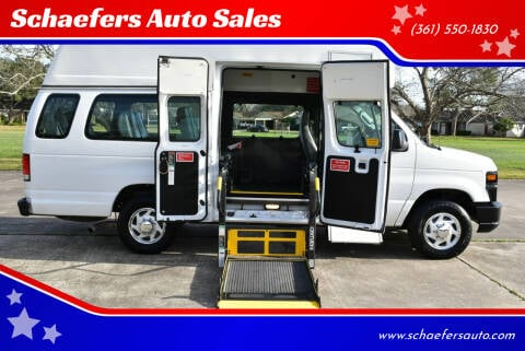 2014 Ford E-Series Cargo for sale at Schaefers Auto Sales in Victoria TX