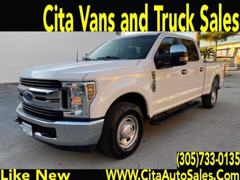 2018 Ford F-250 Super Duty for sale at Cita Auto Sales in Medley FL