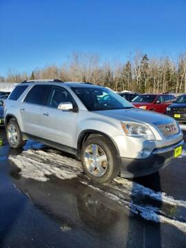 2011 GMC Acadia for sale at Jeff's Sales & Service in Presque Isle ME