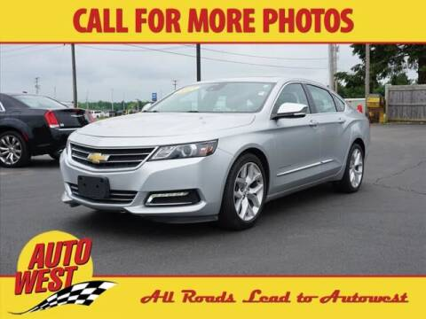 2015 Chevrolet Impala for sale at Autowest of Plainwell in Plainwell MI